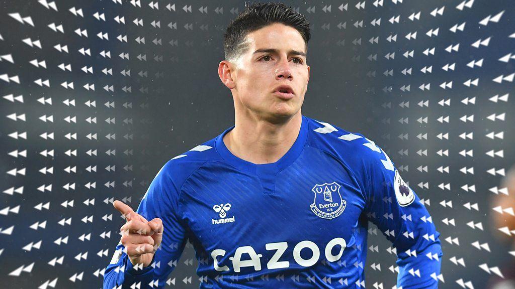 James Rodríguez: los mejores momentos del centrocampista del Everton en la Premier League