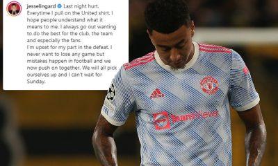 Jesse Lingard rompe el silencio después de costarle a Man Utd un error contra Young Boys con una disculpa humillante a los fanáticos