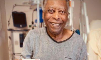 """Jugando cartas y junto a su familia, Pelé mejora y da """"varios pasos"""" en su recuperación"""