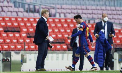 Koeman asegura que la situación de Messi 'disfrazó' todo en el Barça