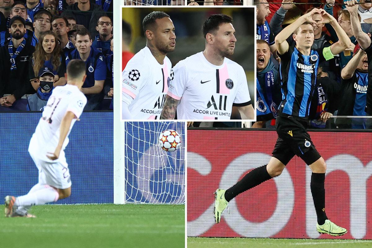 Lionel Messi, Neymar y Mbappé fracasan en la primera salida juntos mientras el PSG empata en los pececillos belgas
