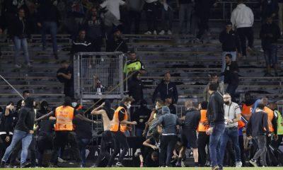 Los fanáticos del Marsella excluidos de los partidos fuera de casa y el Angers permanece cerrado por problemas con la multitud