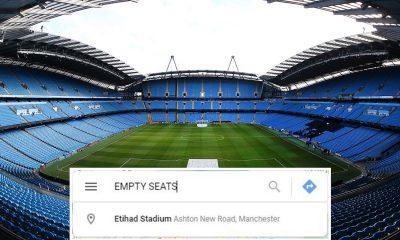 Man City fue brutalmente trolleado mientras sus rivales pirateaban Google Maps y vinculaban 'asientos vacíos' con 'Etihad Stadium' después de la súplica de los fanáticos de Guardiola