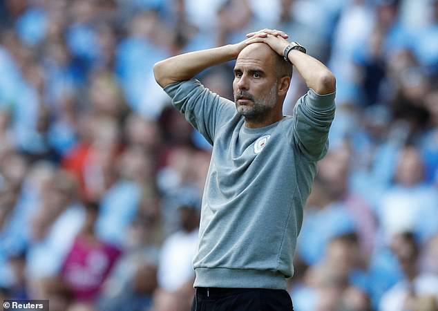 Pep Guardiola se quedó frustrado cuando el Manchester City se quedó sin goles ante el Southampton