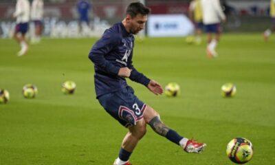 Messi tiene la mente puesta en el Manchester City