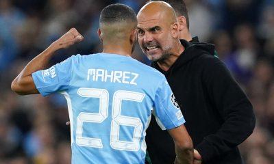 Pep Guardiola explica por qué arremetió contra el goleador Riyad Mahrez durante la victoria del Manchester City sobre el RB Leipzig