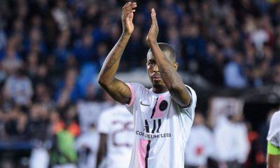 """Presnel Kimpembe sobre el empate contra Brujas: """"Se merecen el punto esta noche""""."""