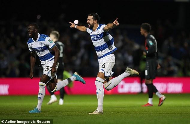 El QPR pasa a la cuarta ronda de la Copa Carabao después de una victoria en la tanda sobre el Everton