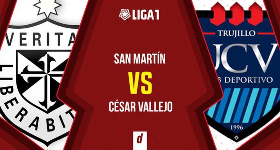 San Martín vs. Vallejo EN VIVO EN DIRECTO VÍA GOLPERU ONLINE por la fecha 12 de la Fase 2   Liga 1 2021   FUTBOL-PERUANO