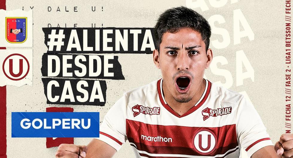 Universitario vs. Alianza Universidad en vivo por GOLPERU: Transmisión de Liga 1