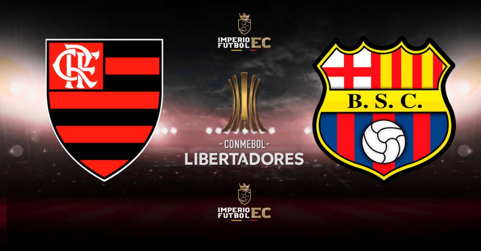 VER PARTIDO Barcelona – Flamengo EN VIVO por semifinal de Libertadores