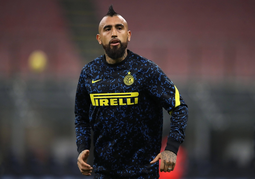 Vidal se perderá próximos duelos de Inter » Prensafútbol
