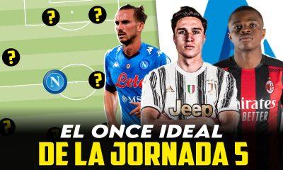 Vídeo I El once ideal de la jornada 5 en la Serie A 2021/22