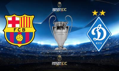 ¿Dónde VER el partido horarios, apps? Barcelona vs. Kiev EN VIVO por la Champions League