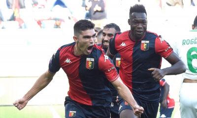 Así le fue al delantero ecuatoriano Felipe Caicedo en su debut oficial con Genoa en Italia (VIDEO)