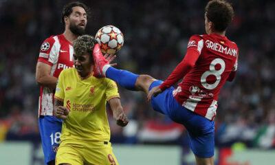 Atlético de Madrid vs Liverpool: Fernández: Griezmann es expulsado con razón, golpea a Firmino en la cara con sus tacos