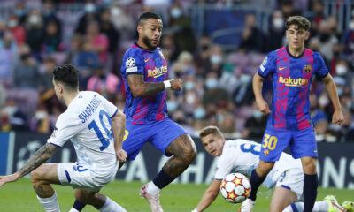 Barcelona 0-0 Dynamo Kyiv EN VIVO: Últimas actualizaciones: De Jong fuerza una buena parada