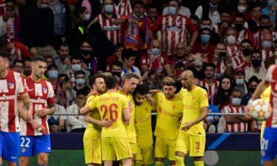 Champions League: Liverpool aguantó y venció 3-2 al Atlético de Madrid como visitante | Fútbol