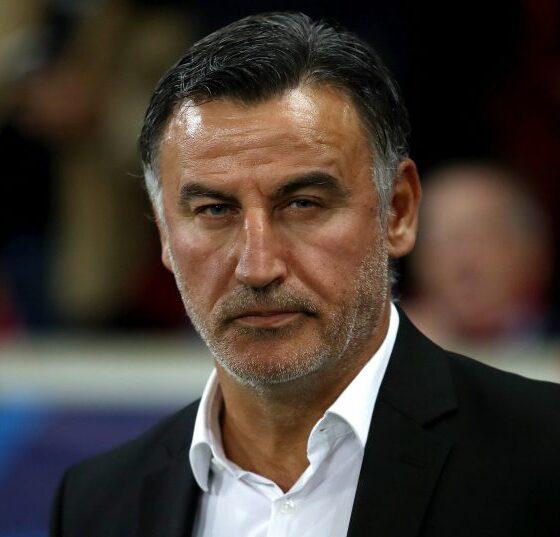 """Christophe Galtier critica al técnico argelino Djamel Belmadi: """"Debería ocuparse de su propio equipo""""."""
