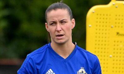 Clasificatorios de la Copa Mundial Femenina 2023: NI mostrará su 'solidaridad' con las jugadoras de la NWSL antes del partido de Inglaterra