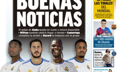 Documentos de hoy: Benzema habla sobre el fichaje del Madrid por Mbappé mientras Pedri renueva con el Barcelona