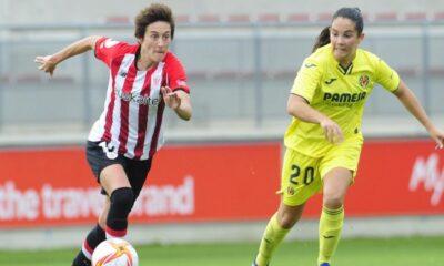 El Athletic se sitúa tercero en la tabla tras ganar por la mínima al Villarreal