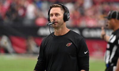 El entrenador de los Cardinals, Kliff Kingsbury, fuera contra los Browns debido a una prueba COVID-19 positiva