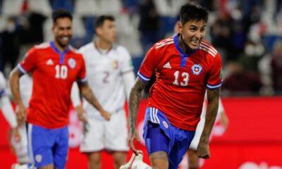 Erick Pulgar fue figura ante Venezuela con dos goles » Prensafútbol