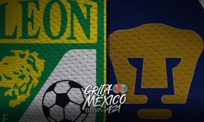 Gol de Dinenno en el Club León vs Pumas de la Jornada 14