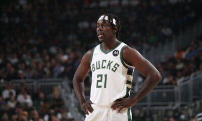 Jrue Holiday de los Bucks fuera del primer partido contra Nets por lesión en el talón derecho