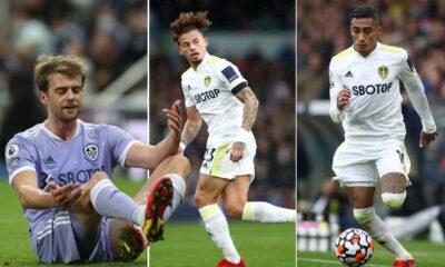 Leeds: Patrick Bamford se perderá el partido de Southampton, Raphinha en duda, Kalvin Phillips podría estar en forma