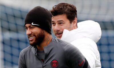 Neymar descartado para el choque de la Liga de Campeones del PSG contra el RB Leipzig después de regresar de Brasil con una lesión