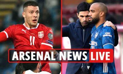 Noticias del Arsenal EN VIVO: Luka Jovic transfiere el ÚLTIMO Lacazette 'para desairar el trato', la reacción de Wilshere a la conversación sobre el retiro