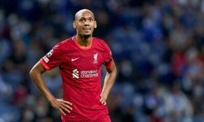 Noticias del Liverpool: es poco probable que Fabinho y Alisson jueguen contra Watford, dice el mediocampista