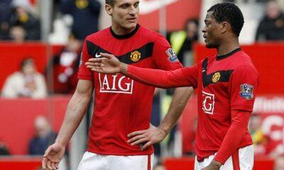 Nemanja Vidic y Patrice Evra no hablaron después de una pelea en Manchester United