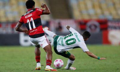 Patrocinador de Flamengo hace inusual promesa en campaña para que Vitinho no esconda la marca