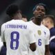 La estrella del Manchester United Paul Pogba es un gran admirador de su compañero de equipo francés Aurelien Tchouameni