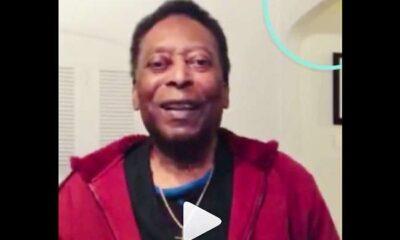 Pelé 'invade' la red social de su hija y dice que se encuentra bien tras ser dado de alta del hospital