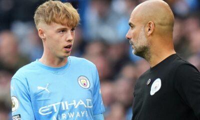 Pep Guardiola aconseja a SEIS jóvenes del Man City que sigan a Cole Palmer en el primer equipo XI y emite advertencia sobre el jugador de 19 años