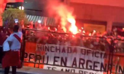 Perú vs. Argentina: banderazo a la selección peruana en Buenos Aires en la previa del partido por las Eliminatorias a Qatar 2022 | VIDEO | NCZD | FUTBOL-PERUANO