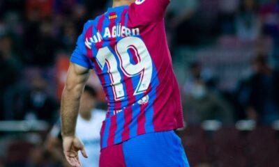 Sergio Agüero debutó con el Barcelona ante el Valencia, después de 139 días desde su fichaje | Fútbol