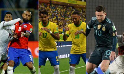 Todos los goles de la fecha 12 de la Eliminatoria Sudamericana