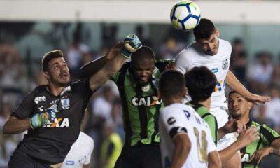 Última visita: con 26% de posesión y dos tiros, América venció a Santos en Vila