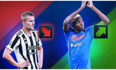 Valores de mercado Serie A: carrera alta para Osimhen - Juventus cae por debajo del Borussia Dortmund