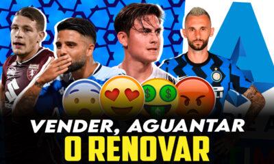 Vídeo I Los jugadores que acaban contrato en junio en la Serie A
